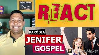 Jenifer Gospel - JONATHAN NEMER (Quézia) - REACT
