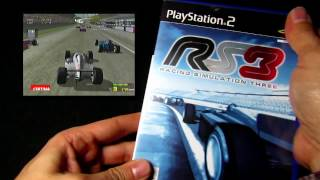 Racing Simulator 3 - PS2/Playstation 2 Cover/Game