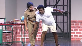 #ThakarppanComedy I A police station bride seeing!!! I Mazhavil Manorama