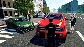 СЕРЬЁЗНАЯ АВАРИЯ!   Police Simulator: Patrol Duty #1