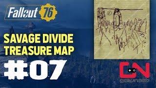 Fallout 76 - Savage Divide Treasure Map #07 Location