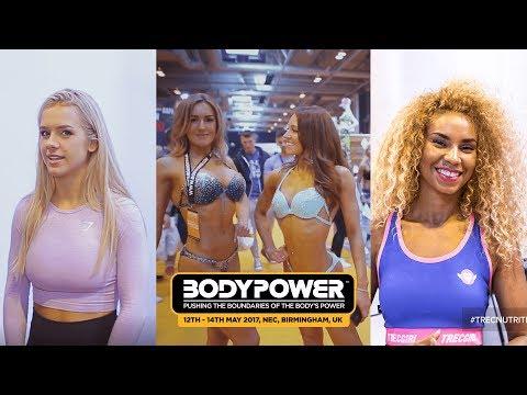 Beautiful Girls of BodyPower 2017 - Fitness Motivation - Grace Fit UK, Alicia Gardner, Lucy Mogilner