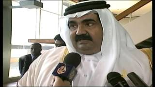 أرشيف -زيارة أمير دولة قطر لموقع هجوم 11 سبتمبر