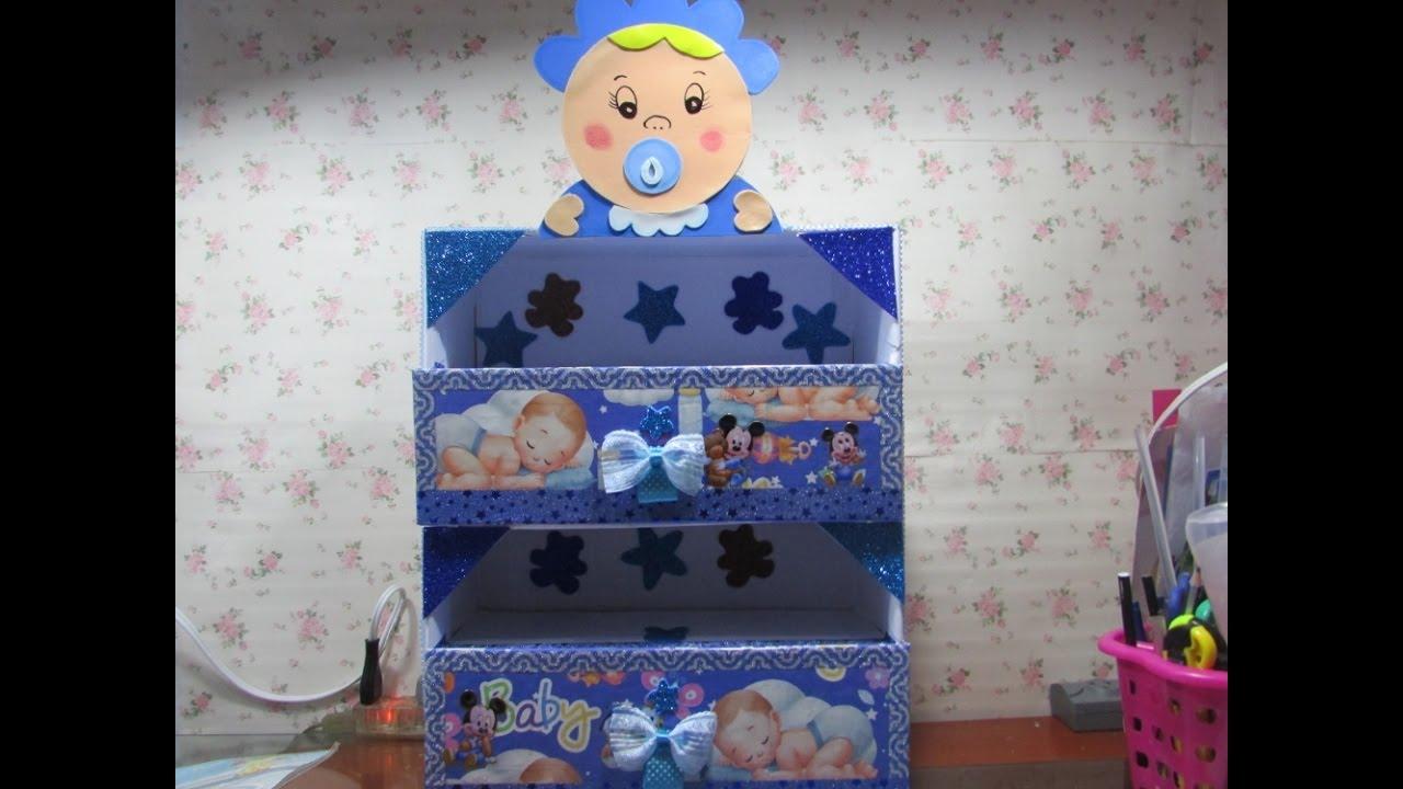 diy zapatera de carton para bebe cardboard organizer for