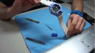 33501e51b61 G Shock DW 6900 custom watch with custom display and bezel Unboxing by  TheDoktor210884