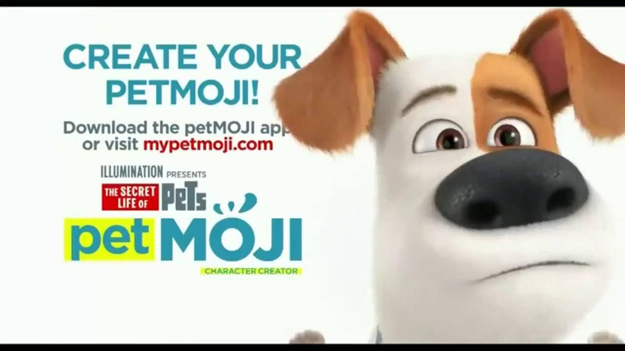 THE SECRET LIFE OF PETS Promo Clip PetMoji 2016 Animated Comedy Movie