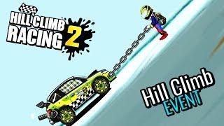 ТАЩИМСЯ на ГОРУ кто дальше заедет / машинки Hill Climb Racing 2 развлекательный летсплей для детей