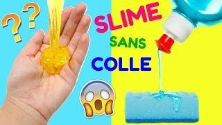 3 RECETTES SLIME SANS COLLE DE MES ABONNÉS !!! 😱 | CRASH TEST #6 thumbnail