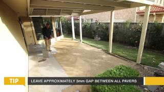 DIY Paving Video, Euro® Stone - how to pave video