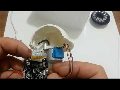 Wi-Fi, IP Bebek Kamerası Sökümü Ve İncelemesi _ Bugün Ne Sökelim? -105-