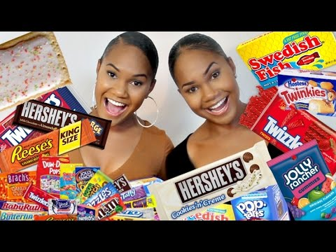 AUSTRALIANS TRY AMERICAN CANDY!