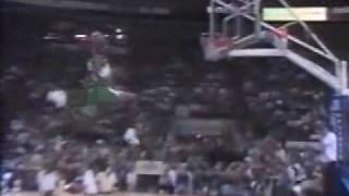NBA Action commercial - Are You Ready To Fly ? (Jordan, Kemp, Miner, Drexler, Benoit)