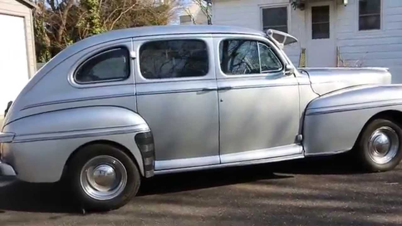 1948 Mercury 4 Door Sedan For Sale Flathead V8 5 Speed
