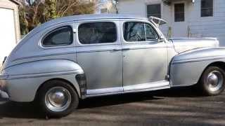 1948 Mercury 4 Door Sedan For Sale~Flathead V8~5 Speed~Awesome Cruiser!
