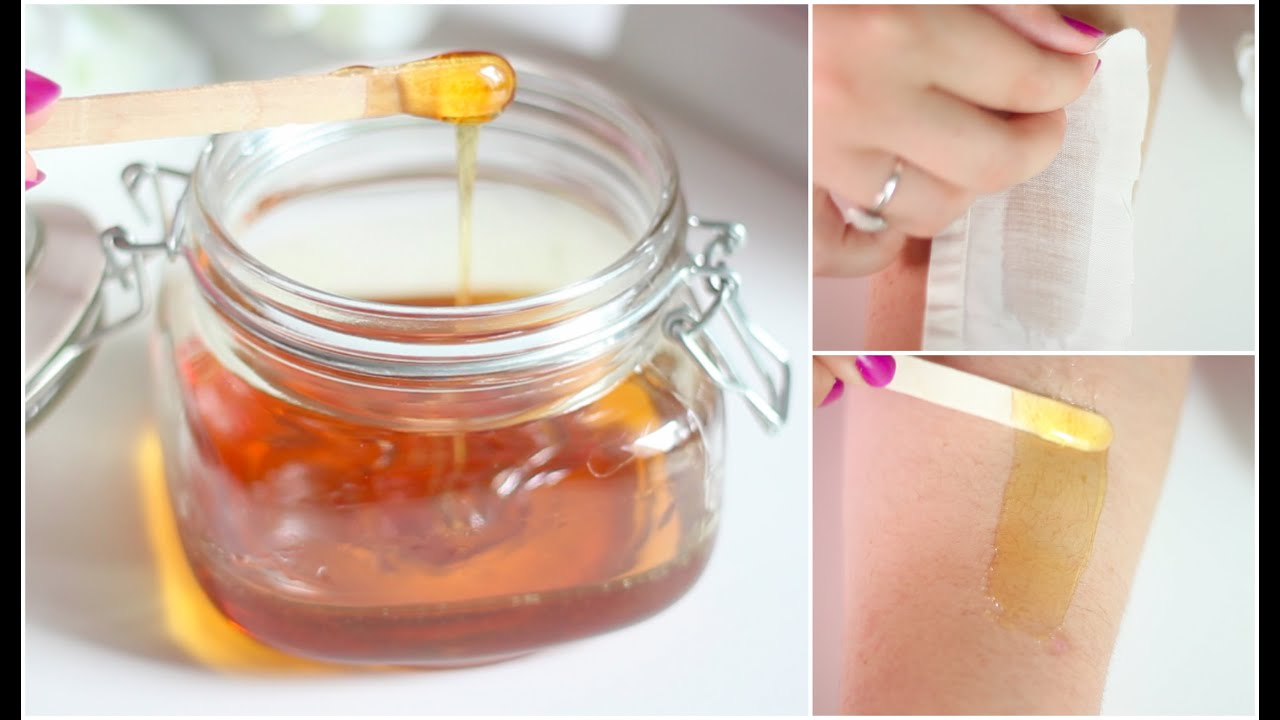 DIY Wax Hair Removal | Sugaring Wax