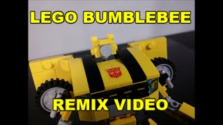 Lego Transformers Bumblebee Remix By BX Brix