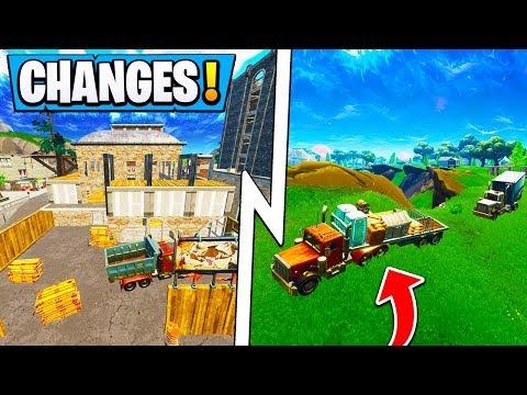 *BIG* Fortnite Update!   ALL Map Changes, Double Barrel Shotgun, Vending Machine! thumbnail