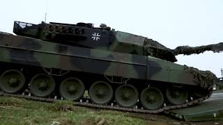 Как #НАТО переправляет танки через реки