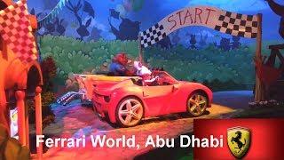Ferrari World Abu Dhabi | Adam and Family in Yas Island| fun Time | Benno's Great Race