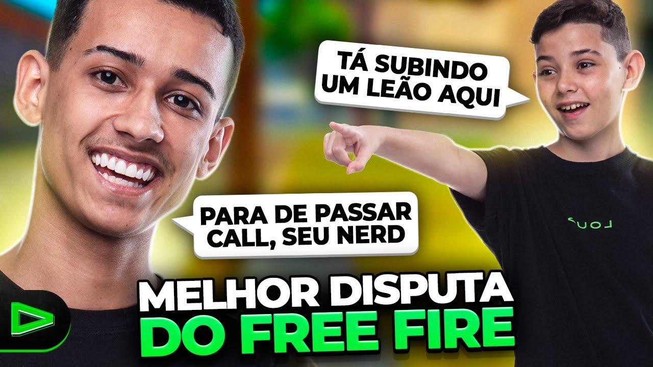 TENTE NÃO RIR!! A MELHOR DISPUTA DO FREEFIRE!!