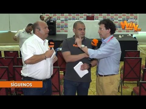 Rueda de prensa de José Pékerman, previo al duelo con Brasil