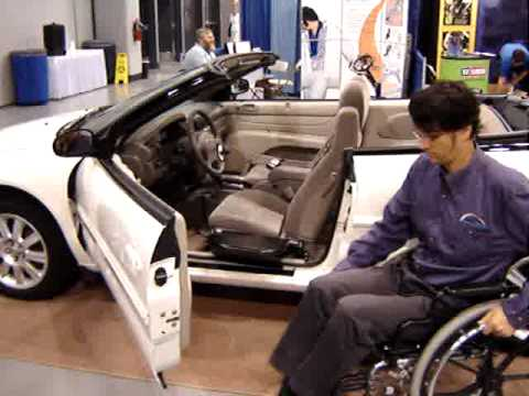Cool Wheelchair Transfer Device Allows Easy Transfers Into Your