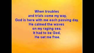 Southern Gospel - It Had To Be God-Karaoke Written By Charles E. Fitzgerald