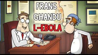 Frans ghandu l-Ebola