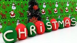 Play Doh Christmas Surprise Eggs Santa Claus Toys Thumbnail