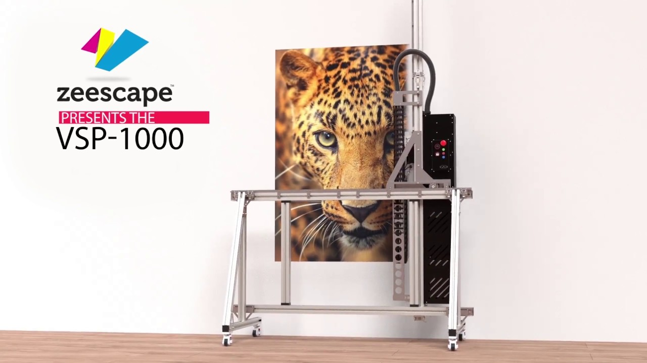 New wall printing machine by zeescape
