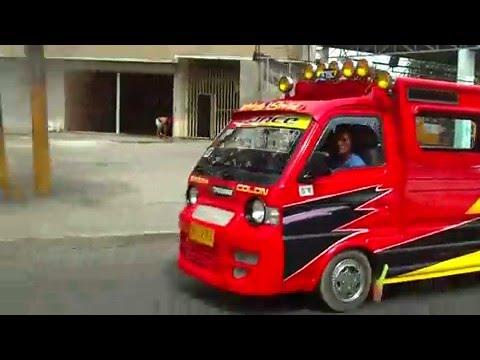 Philippines Expat: Multi cab Bus