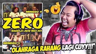 NGAKAK!!! ZERO - maharaja lawak mega 2019 - minggu 4 & 5 | REACTION