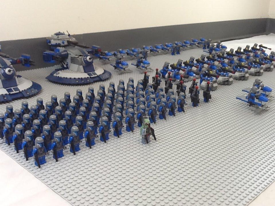 Added Prototype Boba Fett to my Mandalorian army : lego