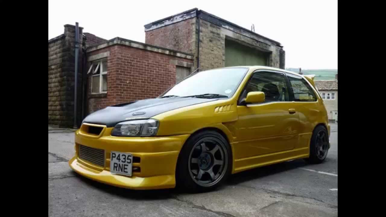 Toyota Starlet Tuning Youtube
