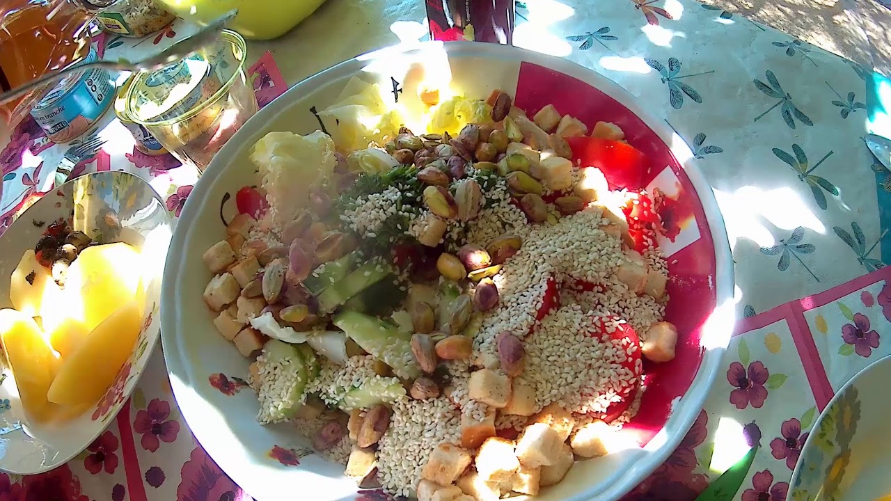 Салат с фисташками новые фото