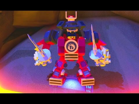 Lego Dimensions Nya S Samurai Mech Fully Upgraded All