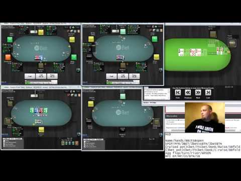 PLO10 on 24hBet - Kyyberi's Omaha Training 25.9. 2015