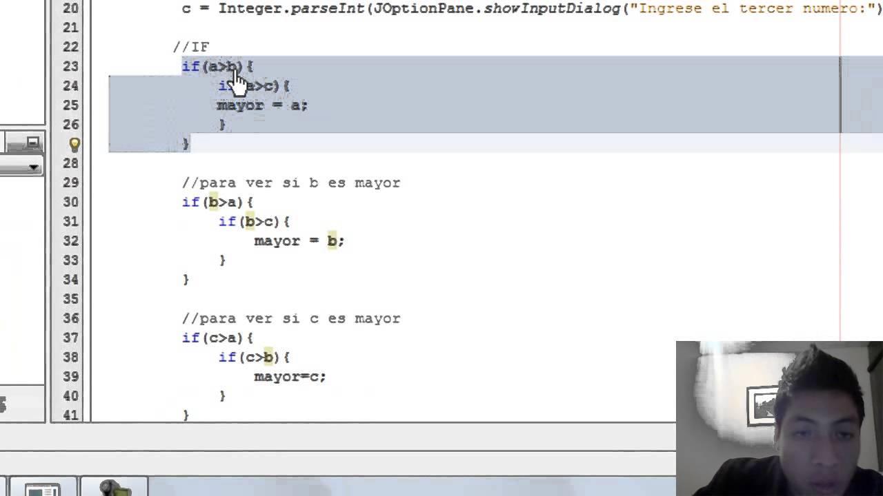 Demo 02 Estructura Secuenciales Poo If Else Switch Usando El Lenguaje Java
