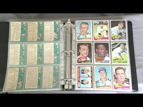 My 1965 Topps Set To Date • The Vintage Composer