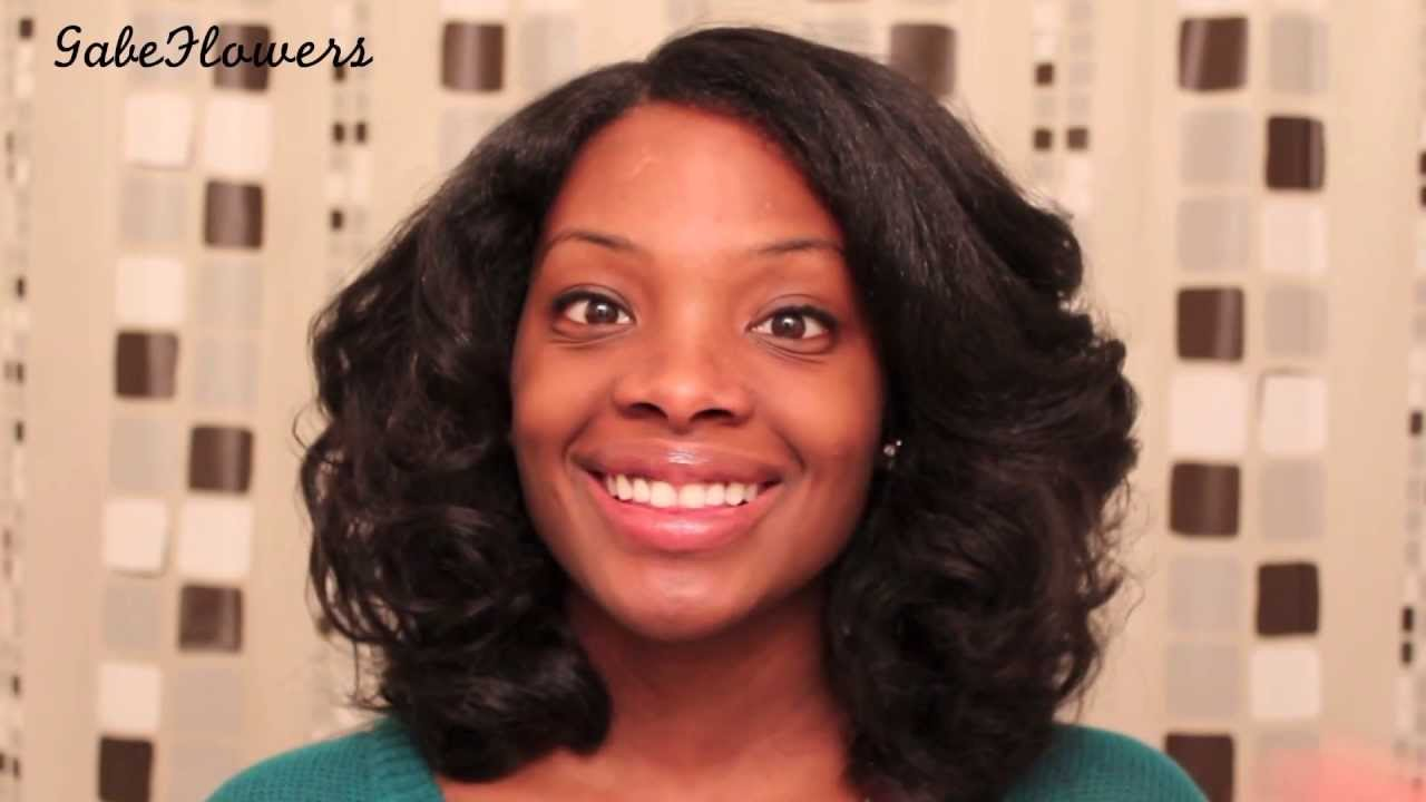 Maintaining Straight Natural Hair Pin Curls Youtube