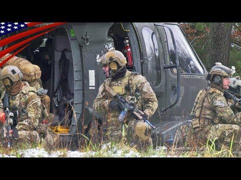 グリーンベレー(特殊部隊)の超かっこいい特殊作戦訓練中の映像 - PV風