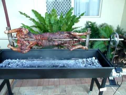 Pig On A Spit From Perth Spit Roast Oven Hire