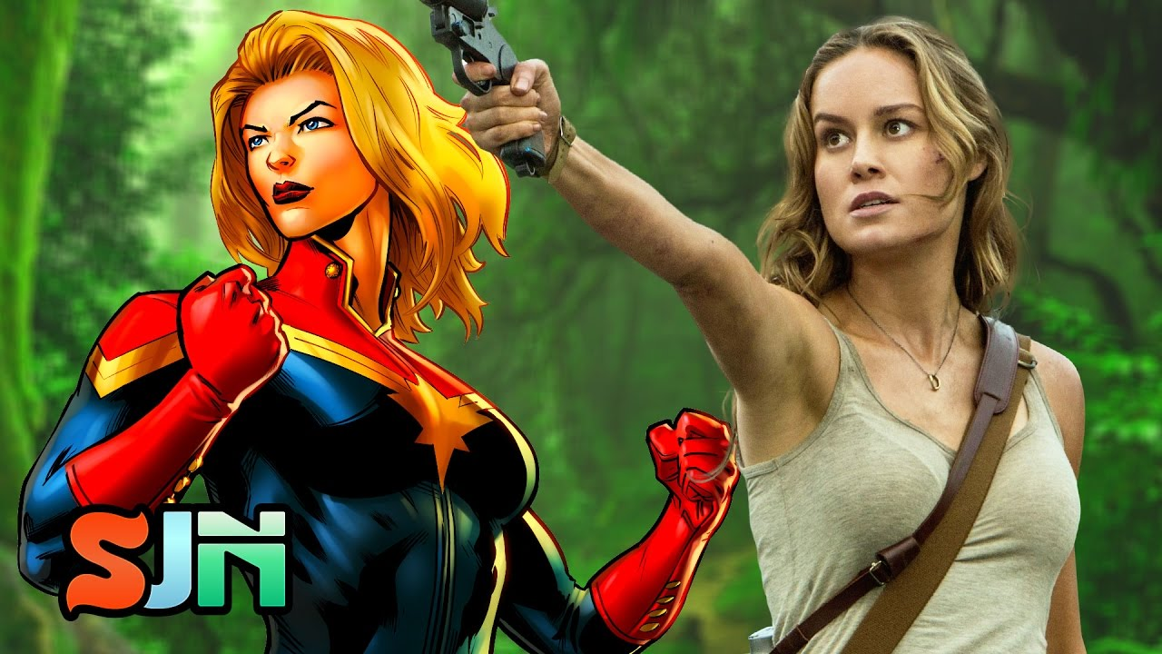 captain marvel asks: is there/should there be a difference in female & male  superheroes?