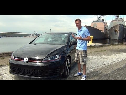 Review 2015 Volkswagen GTI DSG and Manual