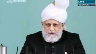 Проповедь Хазрата Мирзы Масрура Ахмада (25-11-11)