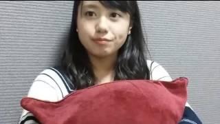 16/10/22 沖田彩華ちゃんのSHOWROOMです.