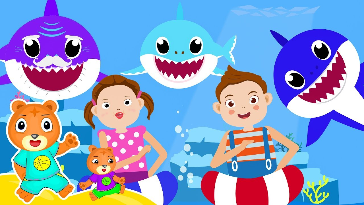 Baby Shark Remix   Sing And Dance   Nursery Rhymes ...