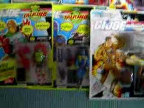 My Gi joe collection moc and mib