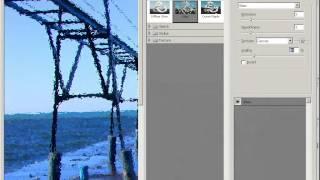 Уроки Adobe Photoshop CS3 - урок 10 - Картина из фотографии