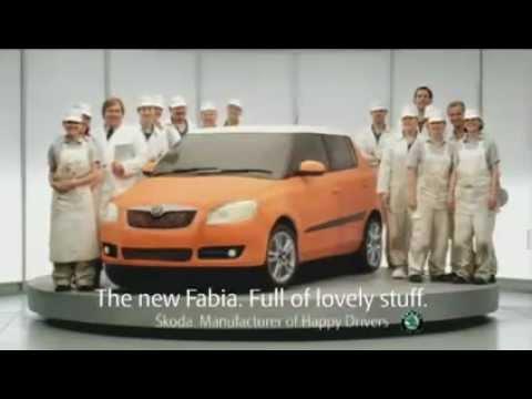 Как испечь торт машину в полный размер. Реклама Skoda